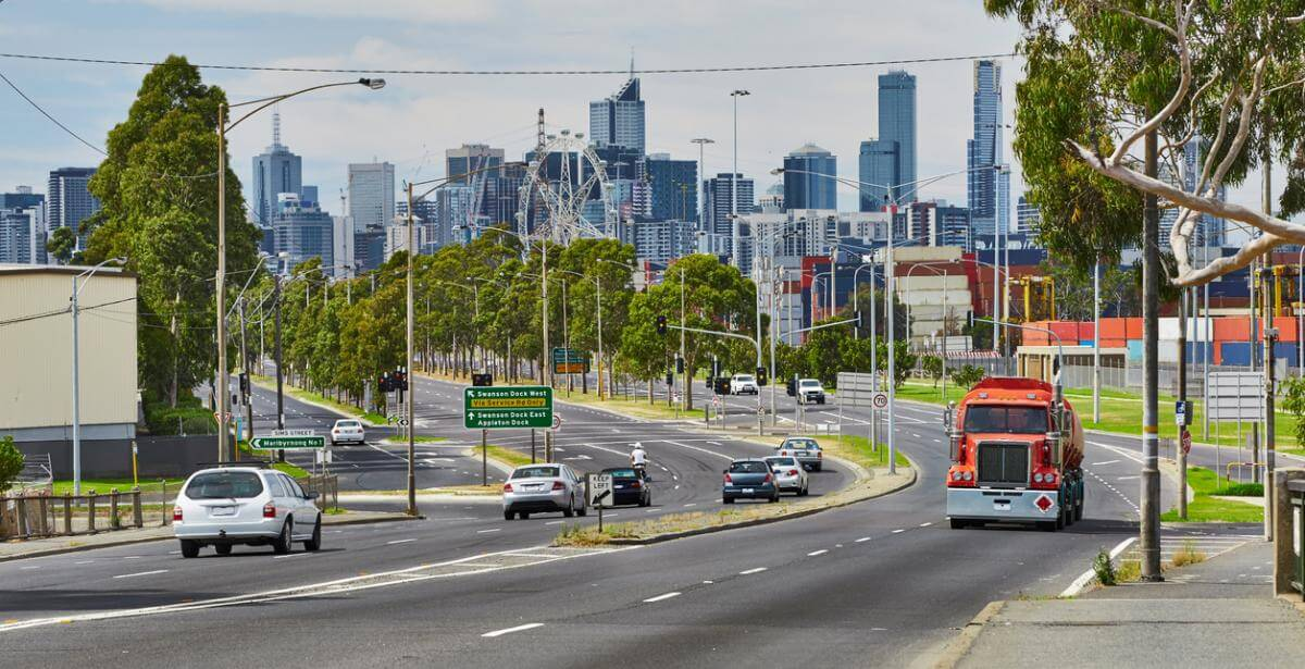 The future of Australia's freight and supply chain